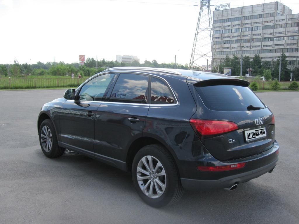 Тонировка стекол автомобиля Audi Q5
